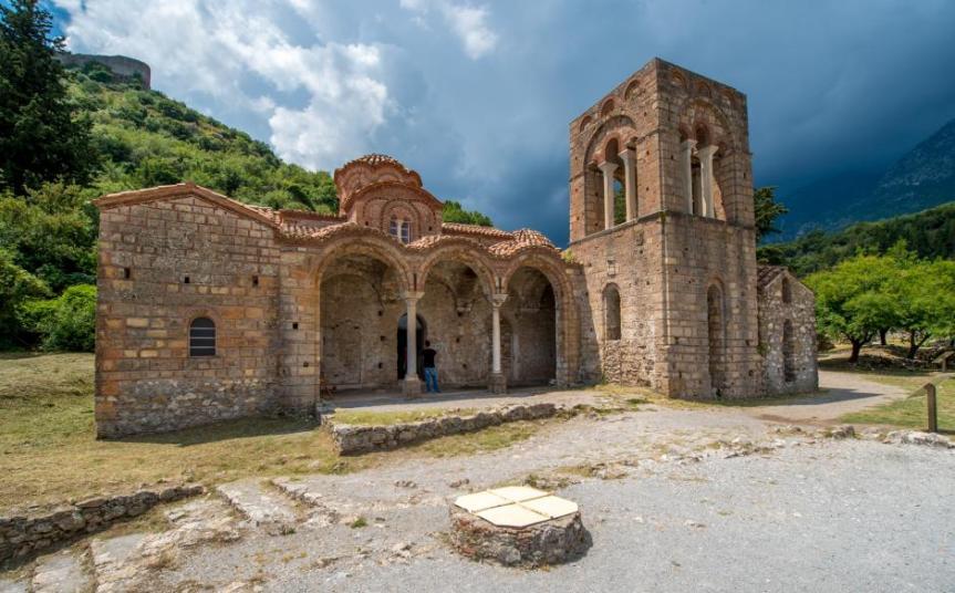 Ιερός Ναός Αγίας Σοφίας,Μυστρά