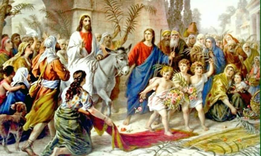Κυριακή των Βαΐων – Βιογραφία, Μονή της Βηθφαγή,Έθιμα